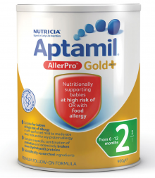 Aptamil Gold+ 2 AllerPro Follow-On Formula 6-12 Months 900g