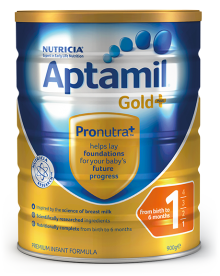 Aptamil Gold+ Step 1 Infant Formula 0-6 Months 900g.png