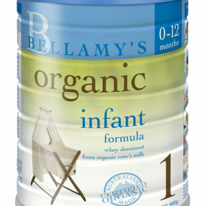 Bellamy's Organic Infant Formula Step 1 900g