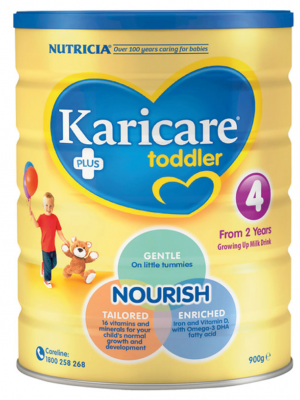 Karicare+ Step 4 Toddler Growing Up Milk From 2 years 900g