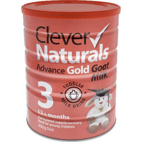 Clever Naturals Advance Gold Goats Milk Infant Formula Stage 3 (12+ months)