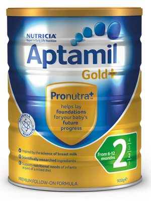 Aptamil Gold+ Step 2 Follow-On Formula 6-12 Months 900g