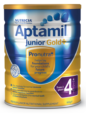 Aptamil Gold+ Step 4 Junior Nutritional Supplement From 2 years 900g