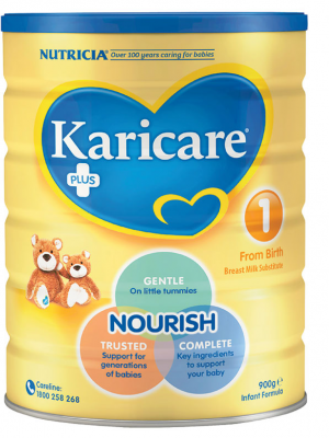 Karicare+ Step 1 Infant Formula From Birth 0-6 Months 900g