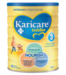 Karicare+ Step 3 Toddler Growing Up Milk From 1 year 900g